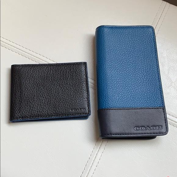 0bbf5200 Coach card holder/ men wallet 🌀